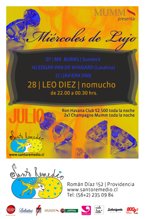 MIE/28/07 Miércoles de lujo en Santo Remedio 3
