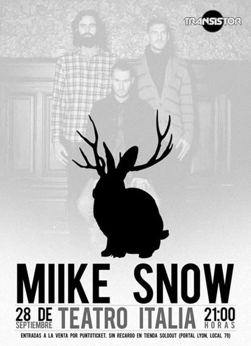 MAR/28/09 Miike Snow en Chile 1