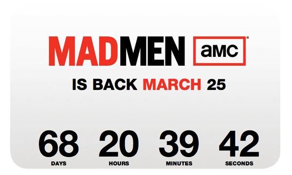 El conteo para Mad Men  1