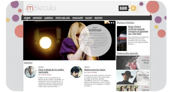 Molecula.cl: opinión, fotografía, radio, agenda y más 3