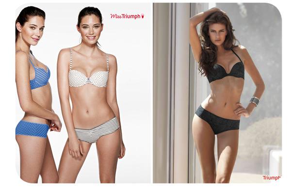 Nuevas colecciones de Miss Triumph 1