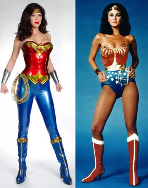 La nueva Mujer Maravilla versus la Mujer Maravilla original 1