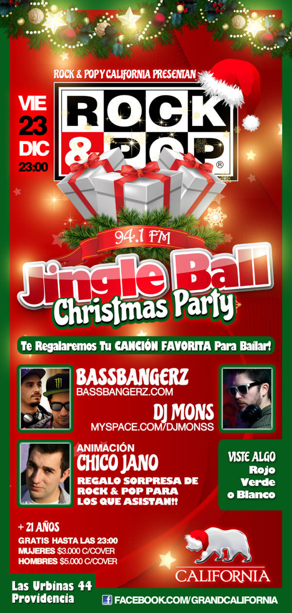 Concurso: Jingle Ball, Rock&Pop Christmas Party 1