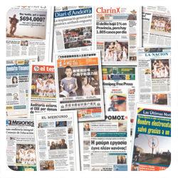 Newseum: revisa las portadas de diarios de 85 países 1