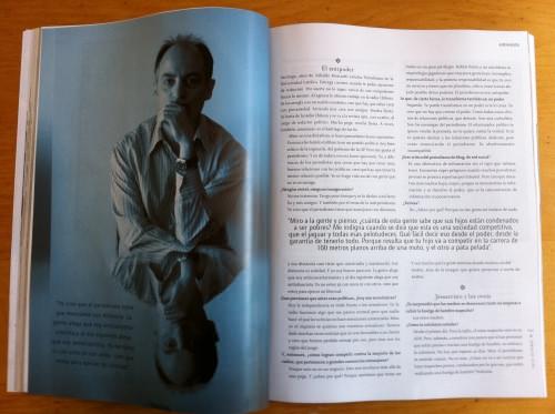 Nibaldo Mosciatti en revista Paula 6