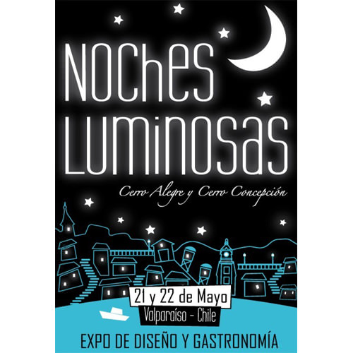 Noches Luminosas en Valparaiso 3