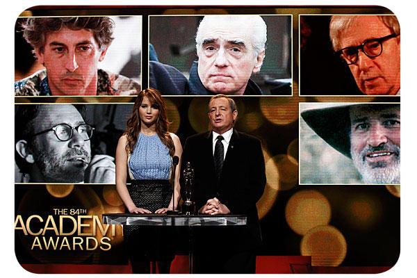 Nominaciones a los premios Oscar 2012: otra vez 3