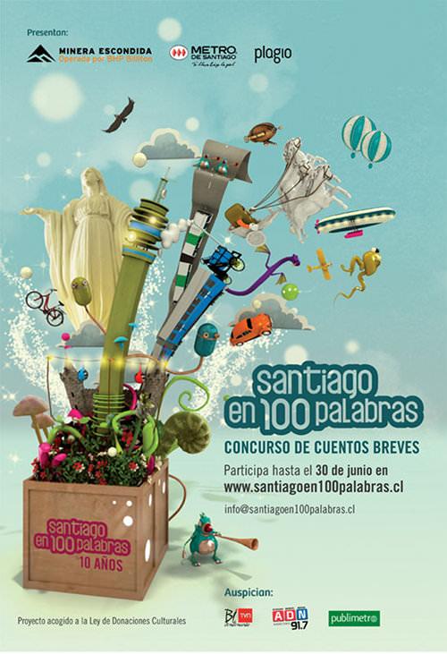 Elige los ganadores de Santiago 100 Palabras 1