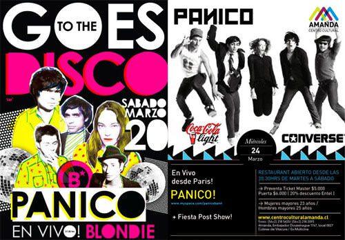 Pánico (la banda) en Chile 1