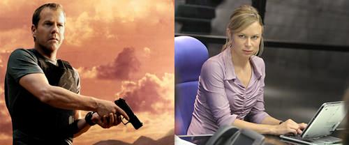Parejas de serie: Jack Bauer y Chloe O' Brian 1