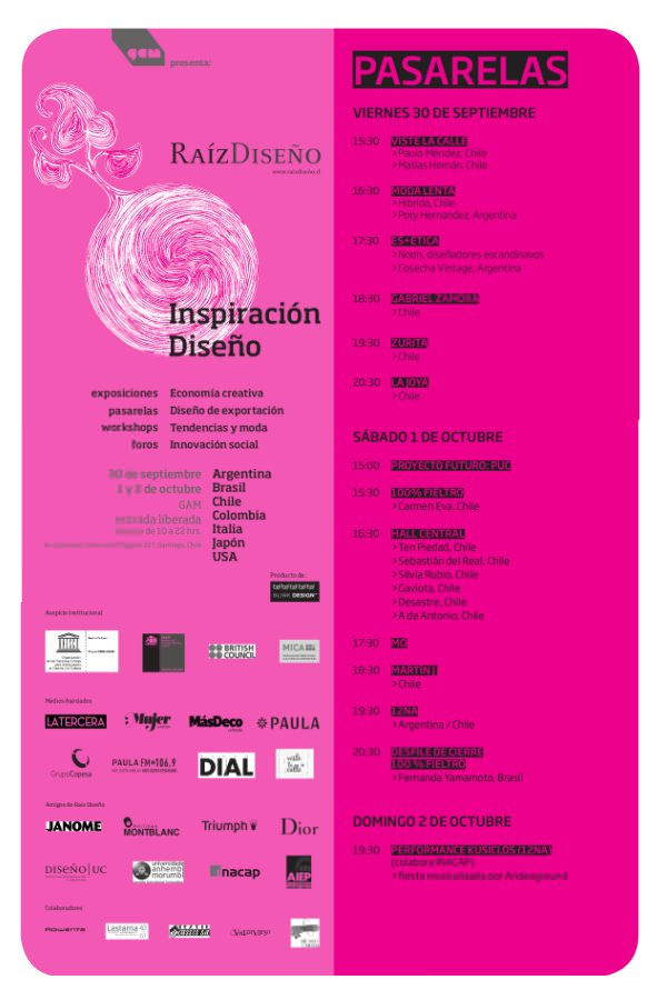 Pasarela Raíz Diseño 2011: muestras, desfiles, foros, películas 6