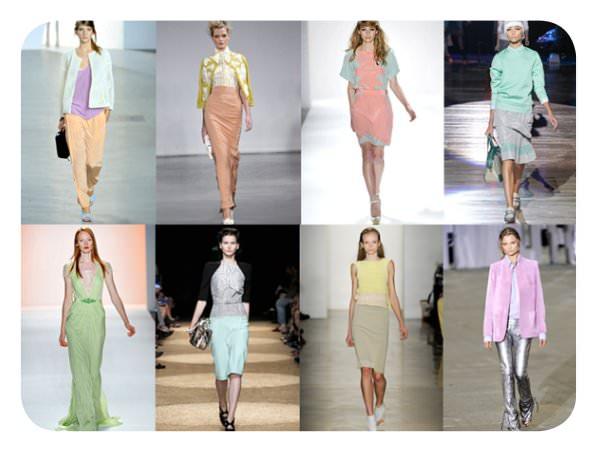 Tendencias del NYFW Spring 2012: colores pasteles 3