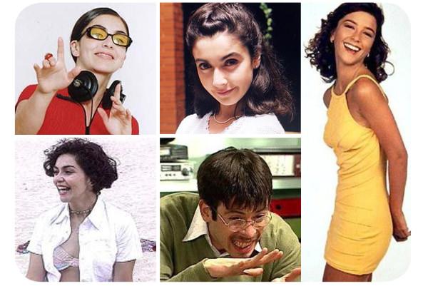 Los personajes graciosos de las teleseries  1