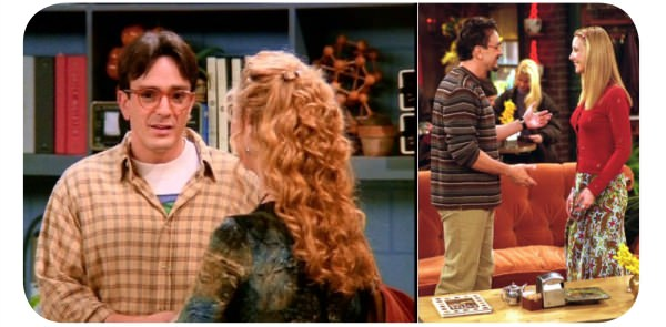 Parejas de serie: Phoebe y David 1