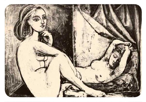 Picasso inédito en Santiago y Antofagasta 1