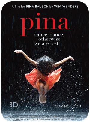 <em>Pina</em> de Wim Wenders, quiero verla 1