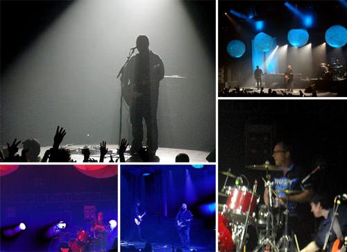 Pixies en Chile: Teatro La Cúpula 1