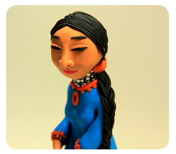 Cecilia Toro, la joven de plasticina 1