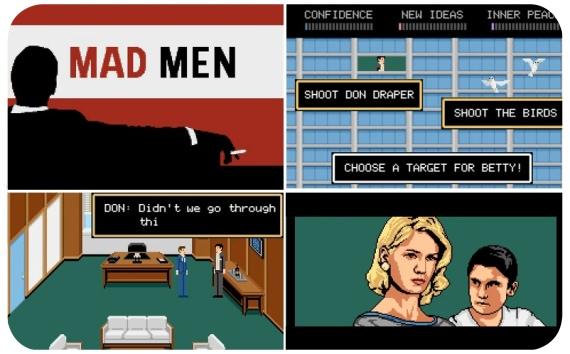 Mad Men, el juego de YouTube 1