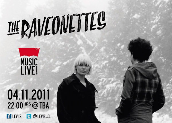 The Raveonettes en Chile! 1