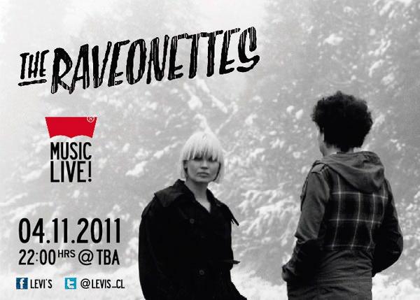 The Raveonettes en Chile! 3