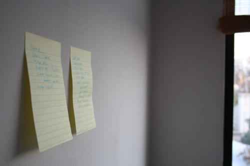 CopyPaste: post-it en la pared 1