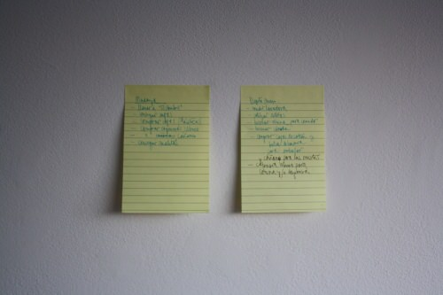 CopyPaste: post-it en la pared 2