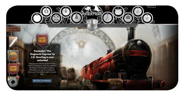 Pottermore: más sobre Harry Potter 2