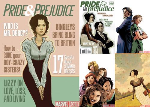 Jane Austen en versión comic 1