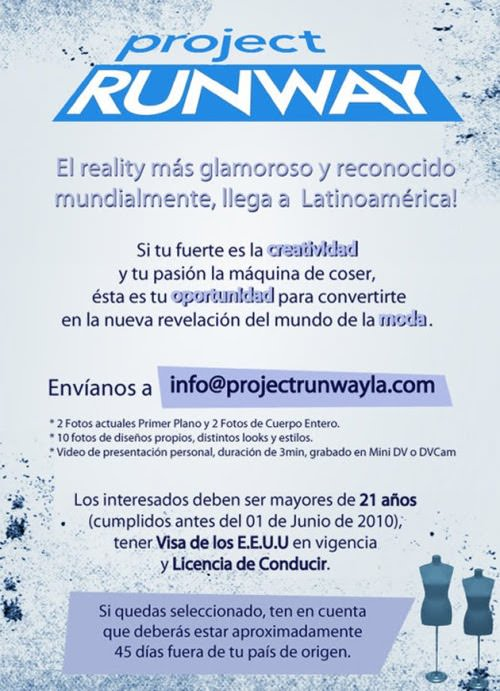 Project Runway en versión latinoamericana 1