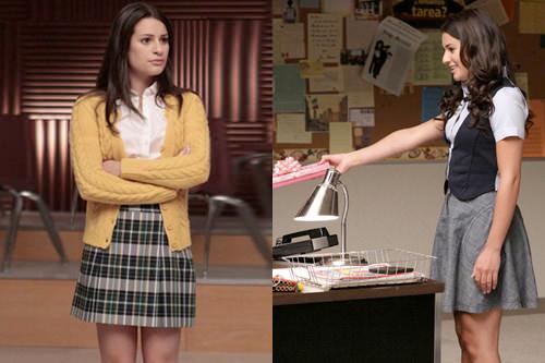 El look: Rachel Berry de Glee 1