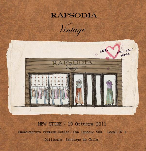 Rapsodia Vintage: nueva tienda 1