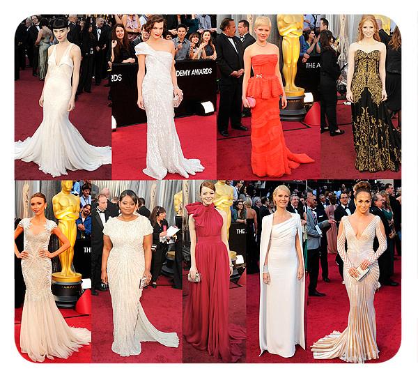 Nuestras elegidas de la alfombra roja, Premios Oscar 2012 1
