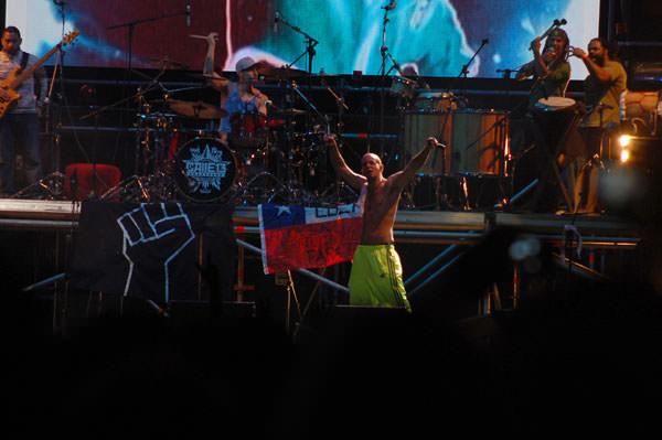 El paso de Calle 13 por Chile 2