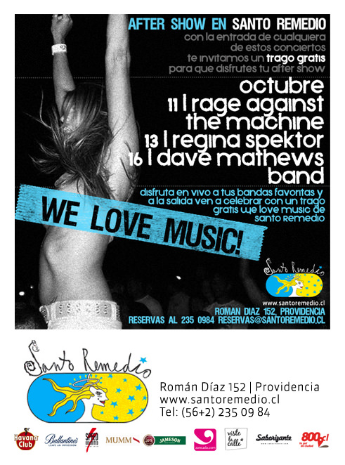 We love music, Santo Remedio 1