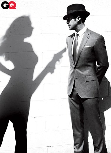 Ryan Gosling en la revista GQ: mino 6