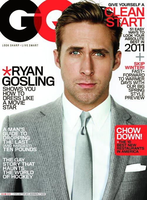 Ryan Gosling en la revista GQ: mino 5