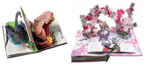Los libros pop-up de Robert Sabuda 1