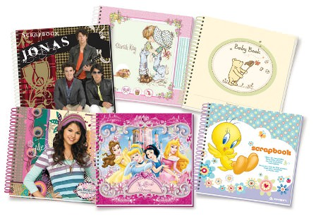 Scrapbooks para niños 1