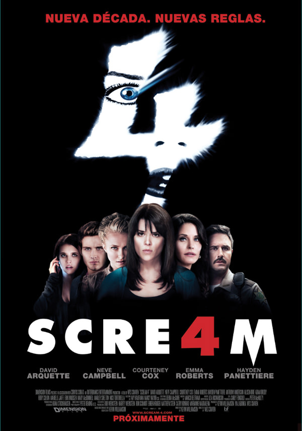 Concurso: película Scream 4 1