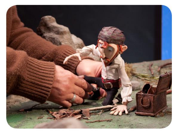 """""""Selkirk, el verdadero Robinson Crusoe"""" ahora en stop motion 1"""