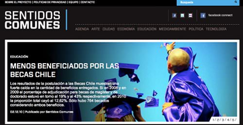 Web: Sentidos Comunes 1