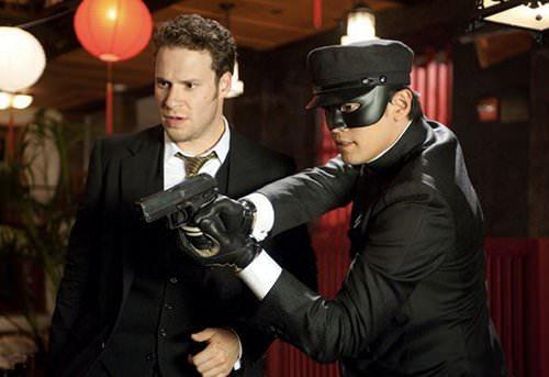Michel Gondry y Seth Rogen juntos en The Green Hornet 3