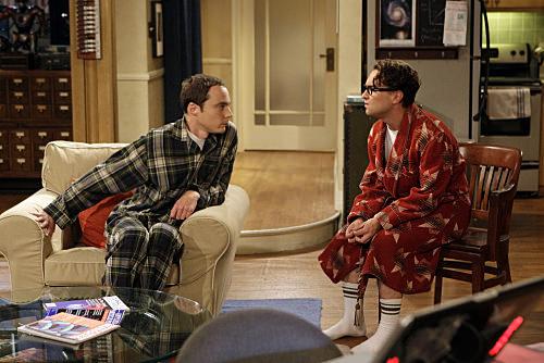 Parejas de serie: Leonard y Sheldon, The Big Bang Theory 1