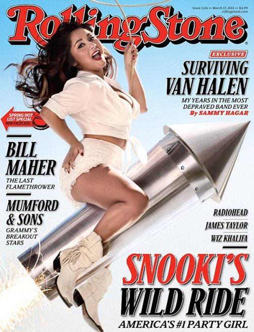 Snooki en la portada de Rolling Stone 1