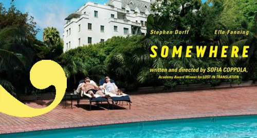 Mini premiere de Somewhere de Sofia Coppola: Zancada invita! 1