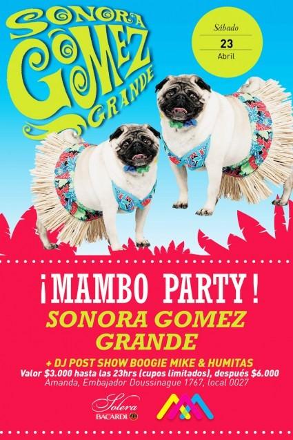 SAB/23/04 Mambo Party, Sonora Gomez Grande 3