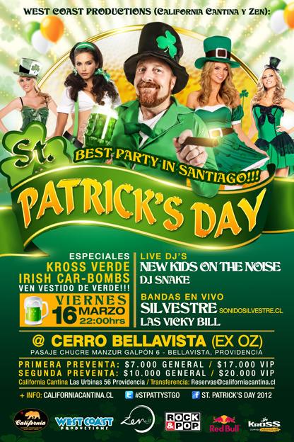 St. Patrick's Day con California Cantina 1