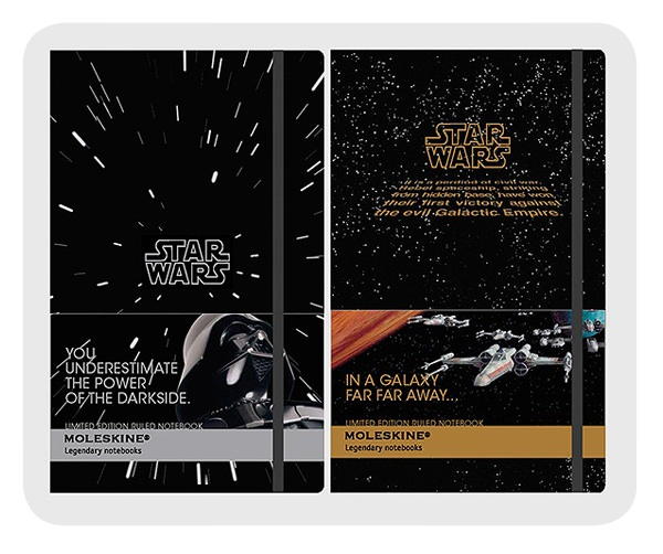 Moleskine y Star Wars 1