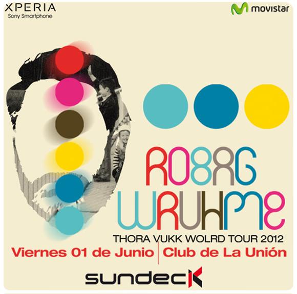 Sundeck abre la temporada otoño invierno con Robag Wruhme (+ Concurso!) 1